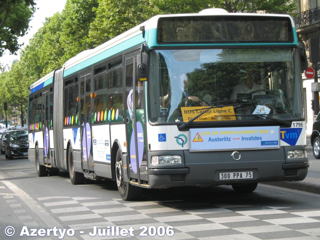 trafic ratp bus